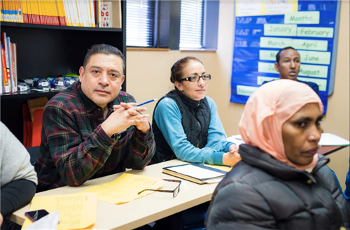 Students learn what they need to take the GED test